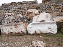 Antioch,Turkey. The ruins at Antioch in Pisidia in Turkey Royalty Free Stock Image