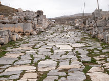 Antioch,Turkey. The ruins at Antioch in Pisidia in Turkey Stock Photography