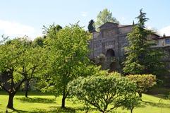 1318 antiochia apsyda budował właściwości kościelnego di wejście fasadowy gothic Italy liguriia margherita minaret nie ośmioboczn Obraz Royalty Free