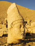 Antiochus. Head of Antiochus. Mt Nemrut National Park, Turkey Stock Images