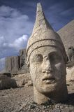 Antiochus, Nemrut Dag. colossal statues guarding ancient tomb,Turkey Royalty Free Stock Image