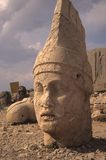 Antiochus, Nemrut Dag. colossal statues guarding ancient tomb,Turkey Royalty Free Stock Photos