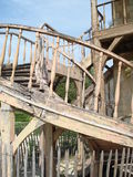 antionettes που χτίζουν το παλαιό versai Στοκ Εικόνα