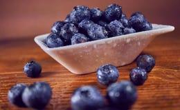Antiossidante naturale dei mirtilli immagini stock