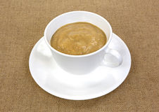Antioxidant drink in cup and saucer Stock Photo
