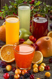 Antioxidant juices Stock Photography