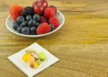 Antioxidantes abundante Fotografia de Stock Royalty Free