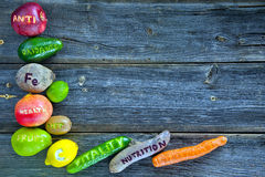Antioxidantes naturais Fotografia de Stock Royalty Free