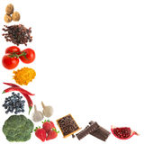 Antioxidants corner Royalty Free Stock Photos