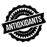 Antioxidants stamp rubber grunge Stock Photo