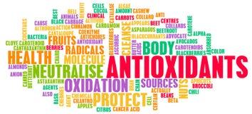 Antioxydantien Stockfotos