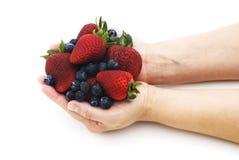 Antioxydants de fruit photographie stock libre de droits