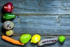 Antioxydants naturels photographie stock libre de droits