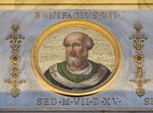 Antipape Boniface VII Photographie stock libre de droits