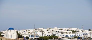 antiparos cyclades希腊海岛全景 免版税库存图片