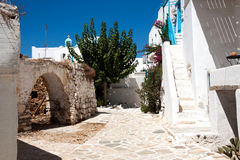 Antiparos the old village - Cyclades Royalty Free Stock Photos