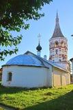 Antipas& x27; s kyrktar, biskopen Pergamum i Suzdal, Ryssland Royaltyfri Fotografi