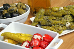 Antipasti Stock Photo