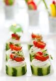 Antipasti della verdura di festa Fotografie Stock Libere da Diritti