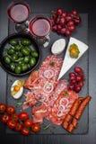 Antipasti e aperitivos Imagens de Stock Royalty Free
