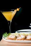 Antipasti e cocktail Fotografie Stock