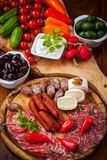 Antipasti and Fingerfood Royalty Free Stock Photography