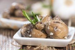 Antipasti Mushrooms Royalty Free Stock Photo