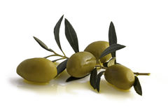 Antipasti - olive Fotografia Stock Libera da Diritti