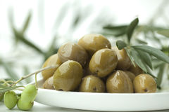 Antipasti - olives Royalty Free Stock Photography