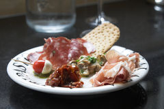 Antipasti plate Royalty Free Stock Photo