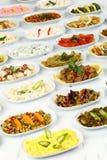 Antipasti turchi fotografie stock
