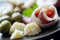 antipasti włoscy zdjęcia stock