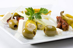 Antipasti Royalty Free Stock Photography