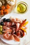 antipasto ιταλικά Στοκ φωτογραφία με δικαίωμα ελεύθερης χρήσης