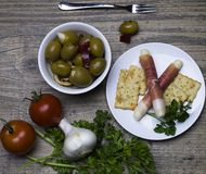antipasto Stockfoto