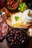 Antipasto and catering platter Stock Image
