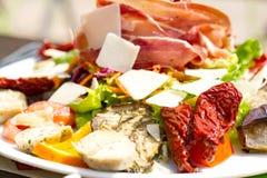 Antipasto catering platter Stock Photos