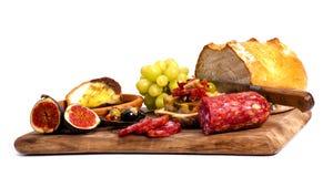 Antipasto catering platter. Stock Photo