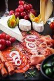 Antipasto dinner platter Royalty Free Stock Image