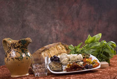 Antipasto dish Royalty Free Stock Image