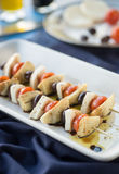Antipasto Kebobs Royalty Free Stock Images