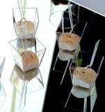 Antipasto - mousse de jambon Photo libre de droits