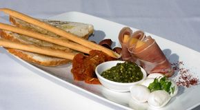 Antipasto Platter Royalty Free Stock Photo