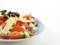 Antipasto salad Royalty Free Stock Photos