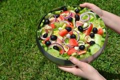 Antipasto-Salat Lizenzfreies Stockbild