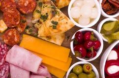 Antipasto Sharing Platter Stock Photos