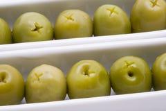 Antipasto verde oliva Fotografie Stock Libere da Diritti