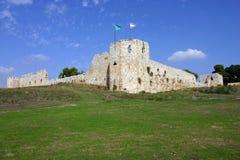 antipatris bashi binar堡垒无背长椅 免版税图库摄影