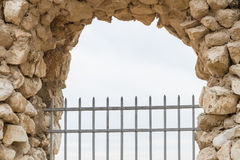 Antipatris fästning. Royaltyfri Foto