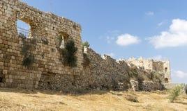 Antipatris-Festung Lizenzfreies Stockbild